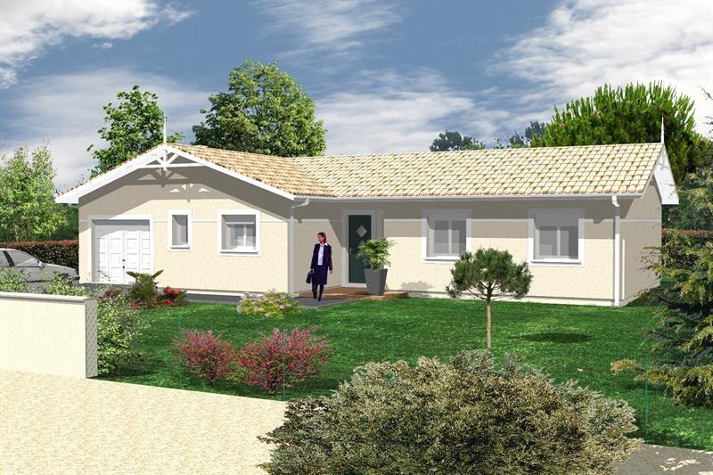 Maison  5 pièces + Terrain 635 m² Landouge (87100) par GCI CONSTRUCTION