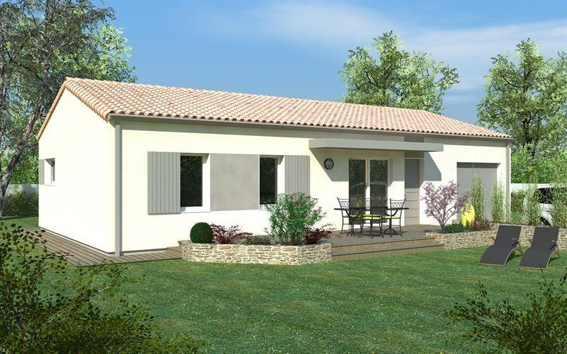 Maison  4 pièces + Terrain 500 m² Vivonne par DELRIEU CONSTRUCTION