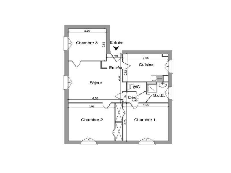 Location appartement Villefranche sur saone 483€ CC - Photo 6