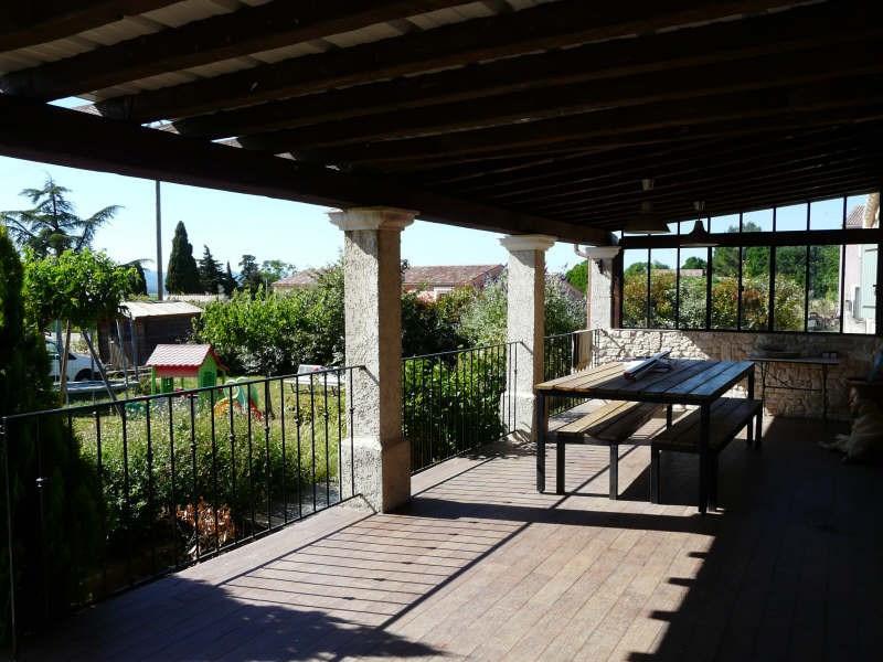 Vente maison / villa Lussan 219000€ - Photo 2