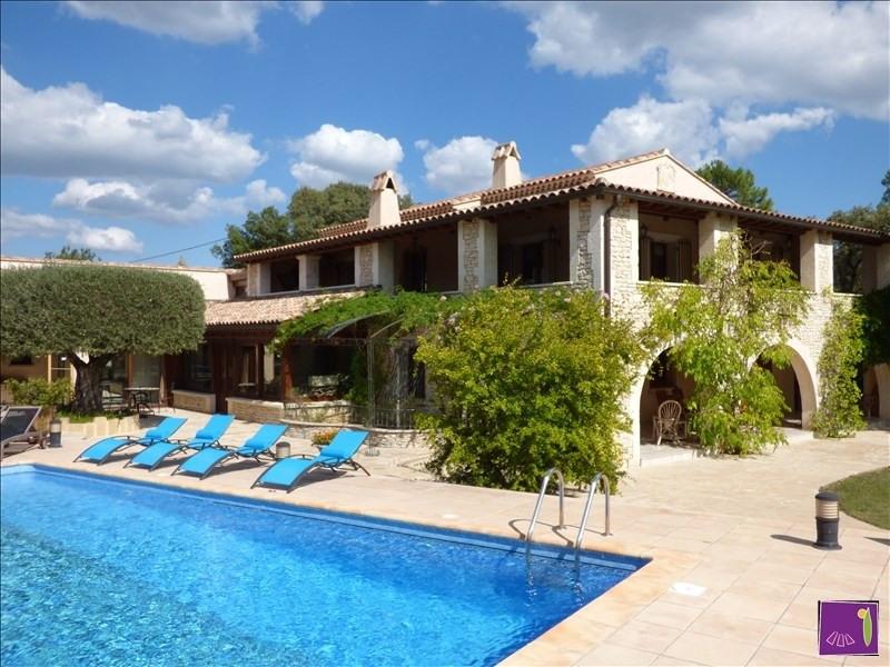 Vente de prestige maison / villa Uzes 1275000€ - Photo 1