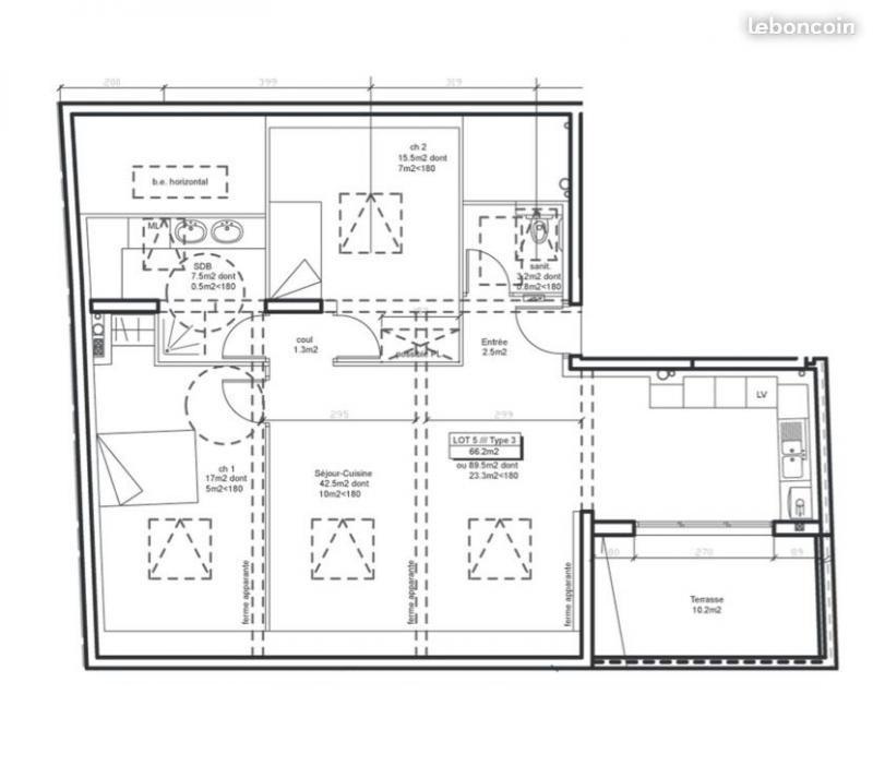 Vente appartement Landerneau 206544€ - Photo 2