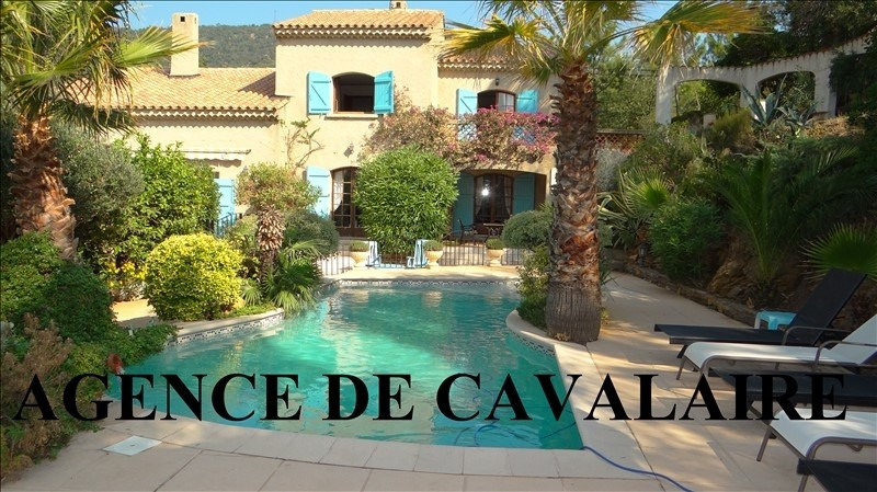 Deluxe sale house / villa Rayol canadel sur mer 755000€ - Picture 1