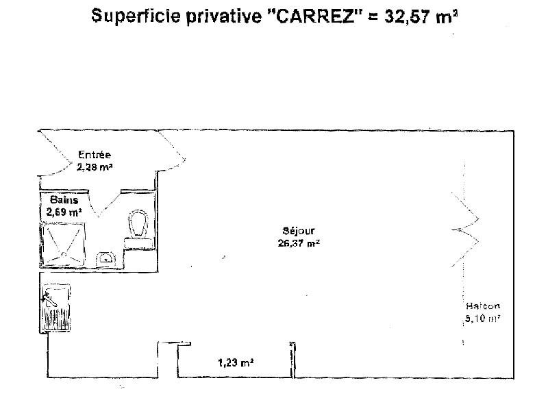 Venta  apartamento Lyon 8ème 121900€ - Fotografía 9