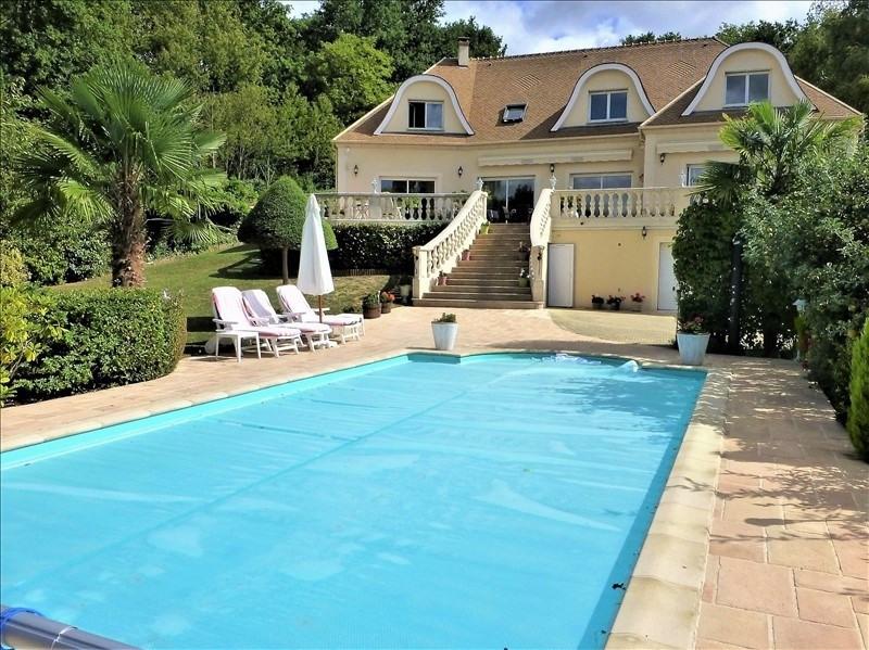 Revenda residencial de prestígio casa Morainvilliers 1299000€ - Fotografia 1