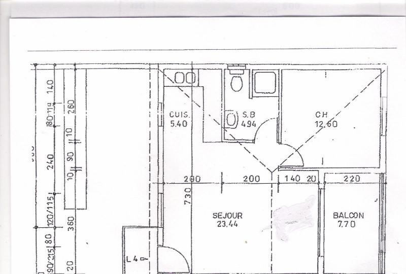 Investment property apartment Ravine des cabris 92000€ - Picture 2