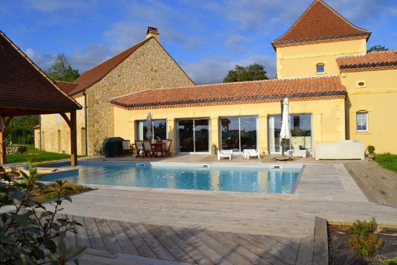 Deluxe sale house / villa Lamonzie saint martin 682500€ - Picture 1