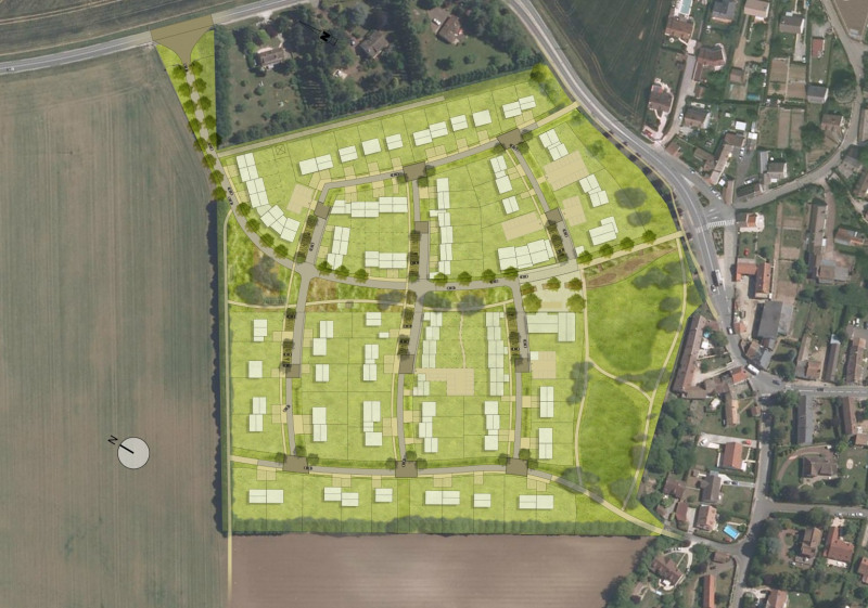 Terrain  de 370 m² Sonchamp par FONCIERE VALLEE CHEVREUSE