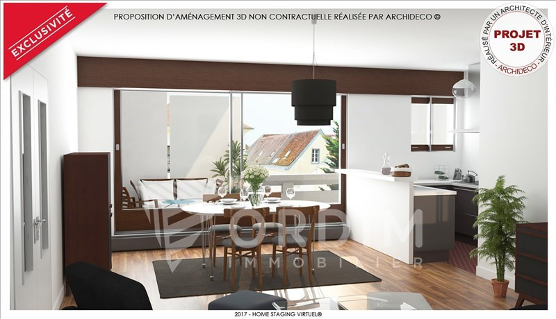 Sale apartment Auxerre 87 900€ - Picture 1