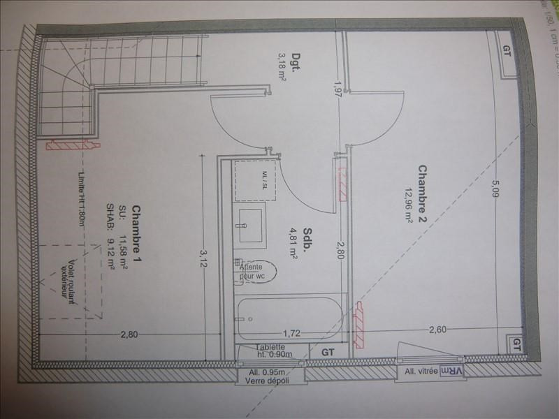 Vente appartement Mery 259000€ - Photo 2