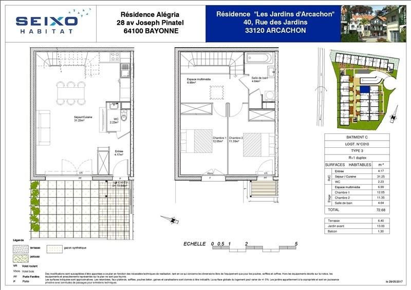 Venta  casa Arcachon 299000€ - Fotografía 3