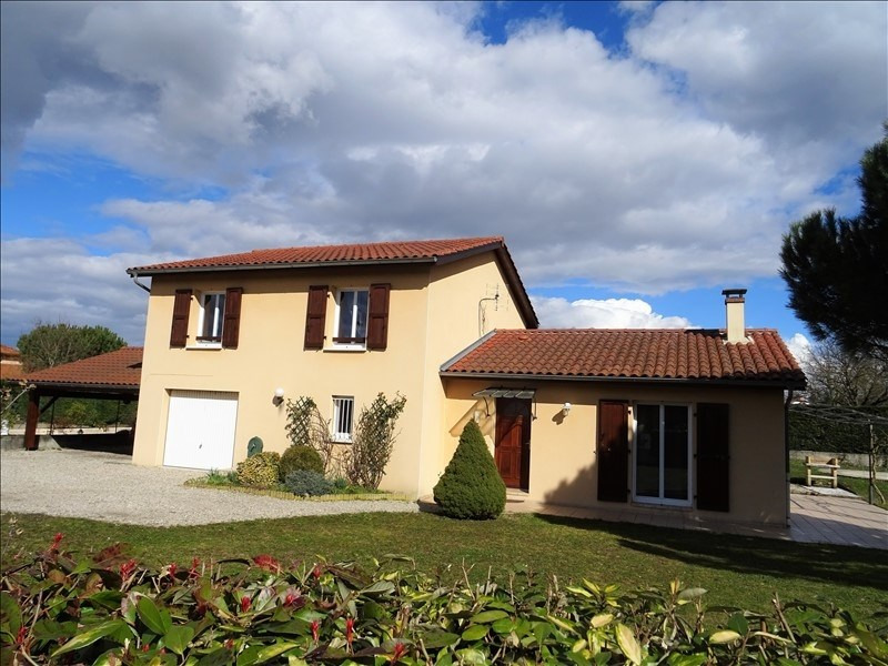 Vente maison / villa Diemoz 340000€ - Photo 1