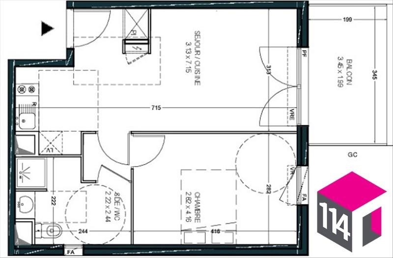 Vente appartement Montpellier 177000€ - Photo 3