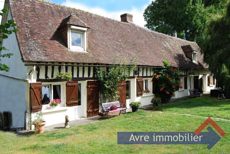 Vente maison / villa Verneuil d avre et d iton 211000€ - Photo 1
