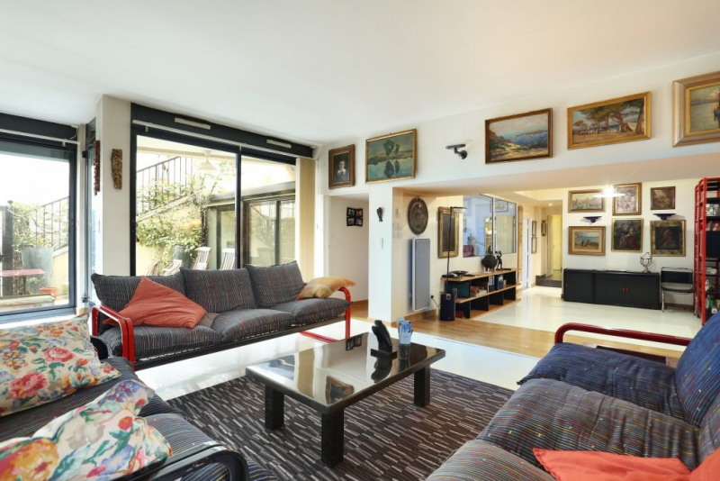 Vente de prestige appartement Paris 19ème 995000€ - Photo 2