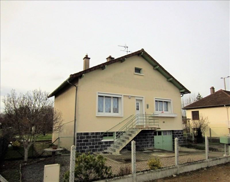 Vente maison / villa Bourbon lancy 80000€ - Photo 1