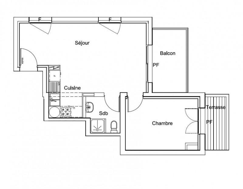 Venta  apartamento Lacanau ocean 180000€ - Fotografía 4
