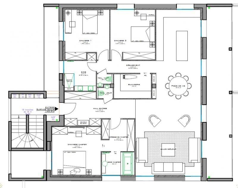 Deluxe sale apartment Caluire et cuire 835000€ - Picture 7