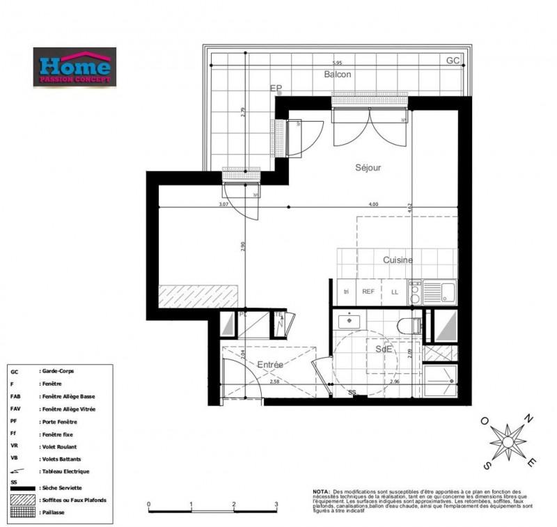 Vente appartement Rueil malmaison 318000€ - Photo 2