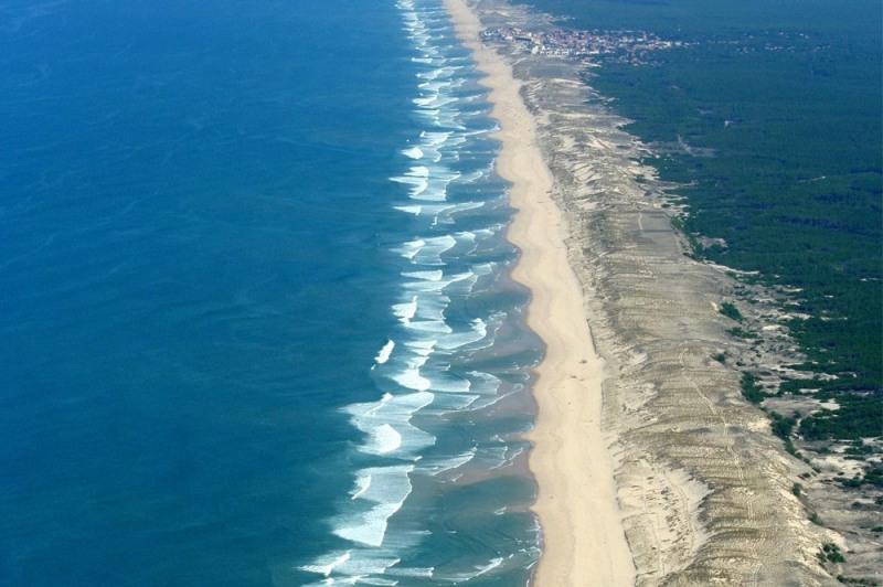 Venta de prestigio  terreno Lacanau ocean 420000€ - Fotografía 1