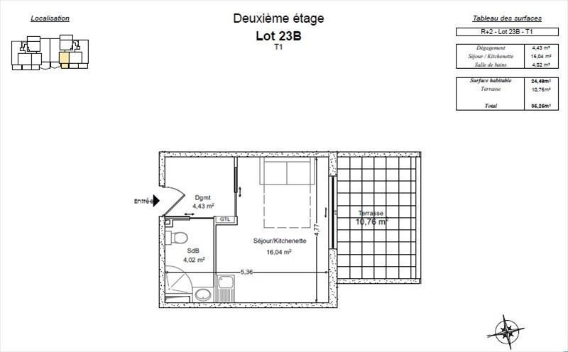 Vente de prestige appartement Bormes les mimosas 165000€ - Photo 2