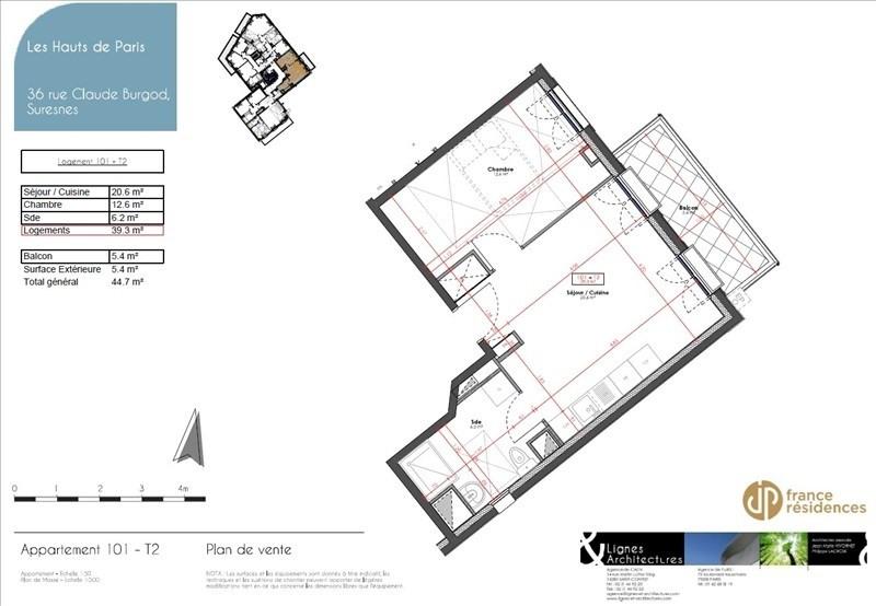Vente appartement Suresnes 341250€ - Photo 9
