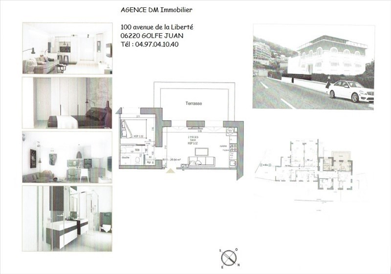 Investment property apartment Nice 210000€ - Picture 1