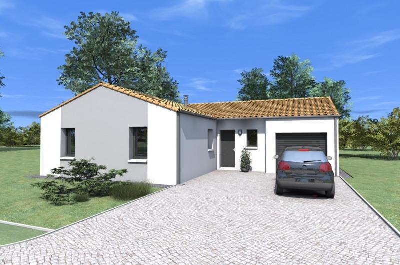 Maison  5 pièces + Terrain 701 m² Mesnard-la-Barotière par ALLIANCE CONSTRUCTION LES HERBIERS