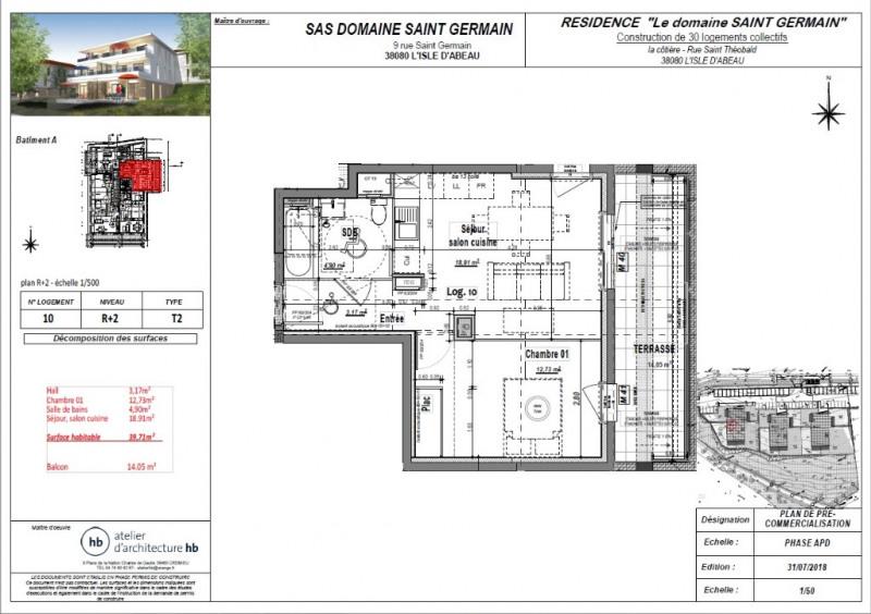 Vente appartement L isle d abeau 117900€ - Photo 3