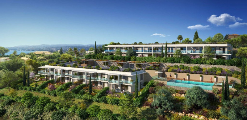 Sale apartment Saint laurent du var 390 000€ - Picture 1