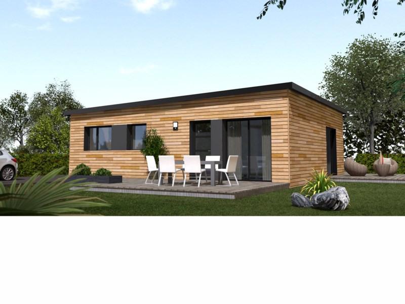 """Modèle de maison  """"70m² ossature bois"""" à partir de 5 pièces Seine-et-Marne par PRIMOBOIS MARNE-LA-VALLEE"""