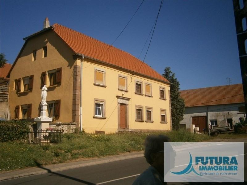 Sale house / villa Kappelkinger 56000€ - Picture 1