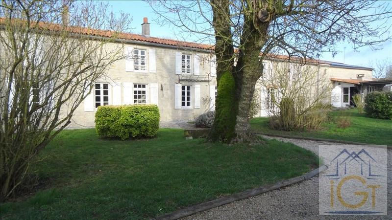 Sale house / villa St medard d aunis 436000€ - Picture 1
