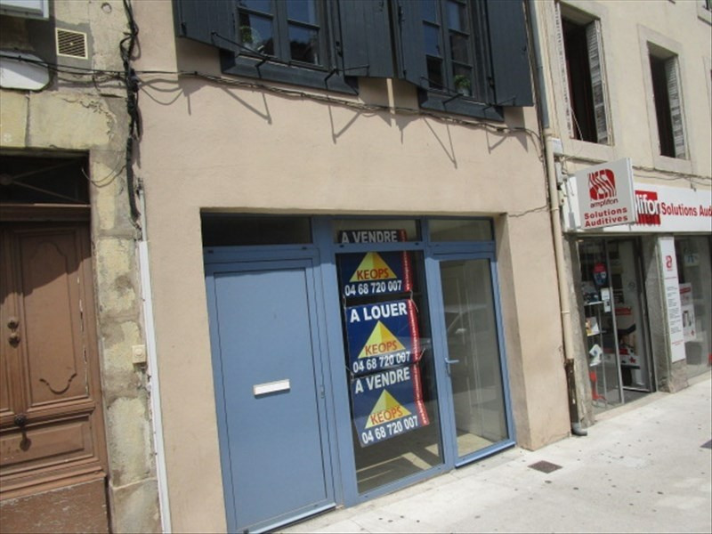 Vente local commercial Carcassonne 67 500€ - Photo 1