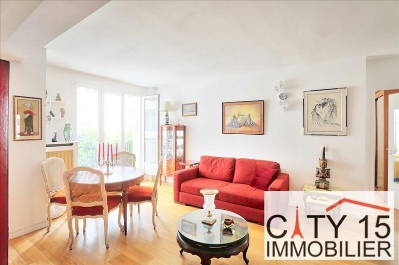 Verkoop  appartement Paris 15ème 585000€ - Foto 1