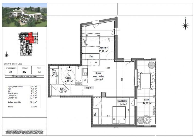 Vente appartement L isle d abeau 173250€ - Photo 3