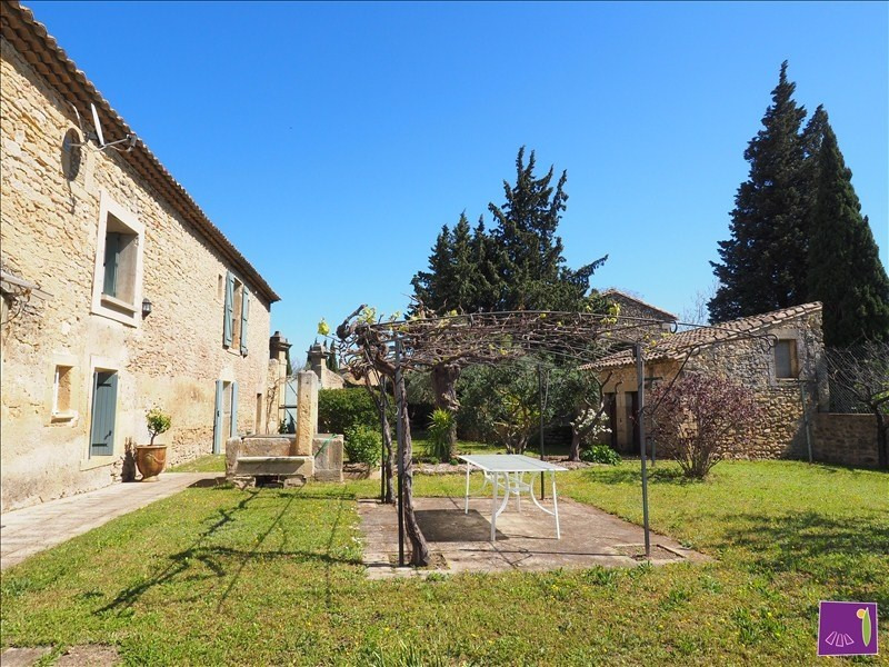 Vente de prestige maison / villa Uzes 529000€ - Photo 1