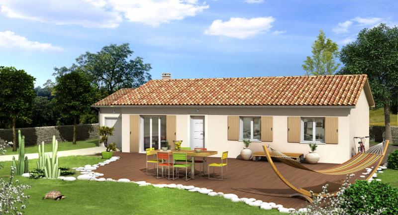 Maison  4 pièces + Terrain 506 m² Peage de Roussillon par VILLAS CLUB