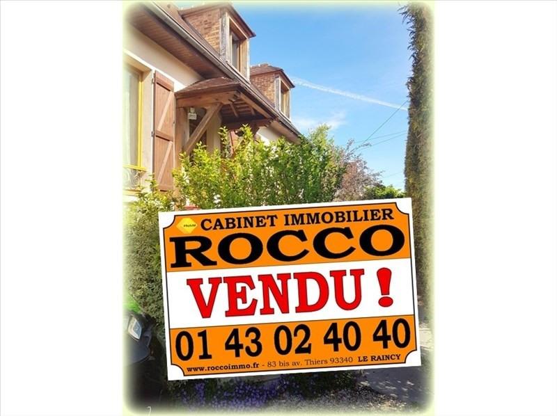 Vente maison / villa Bondy 335000€ - Photo 1