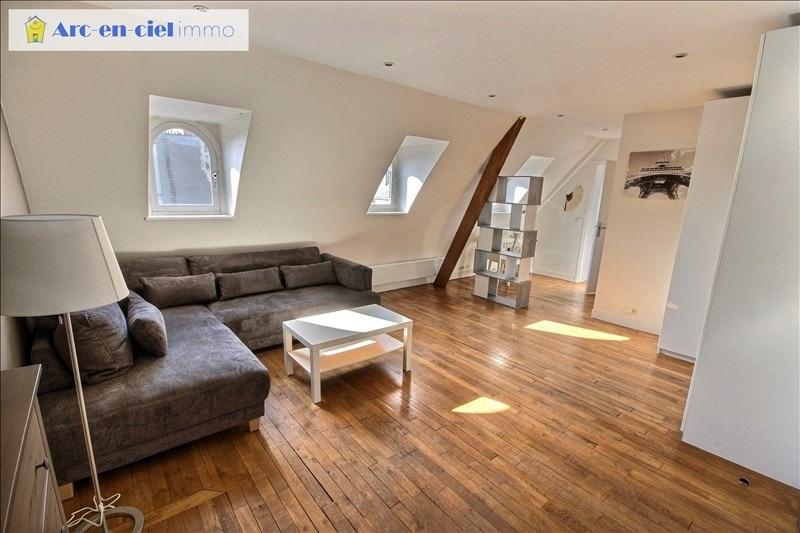 Rental apartment Paris 16ème 1495€ CC - Picture 1