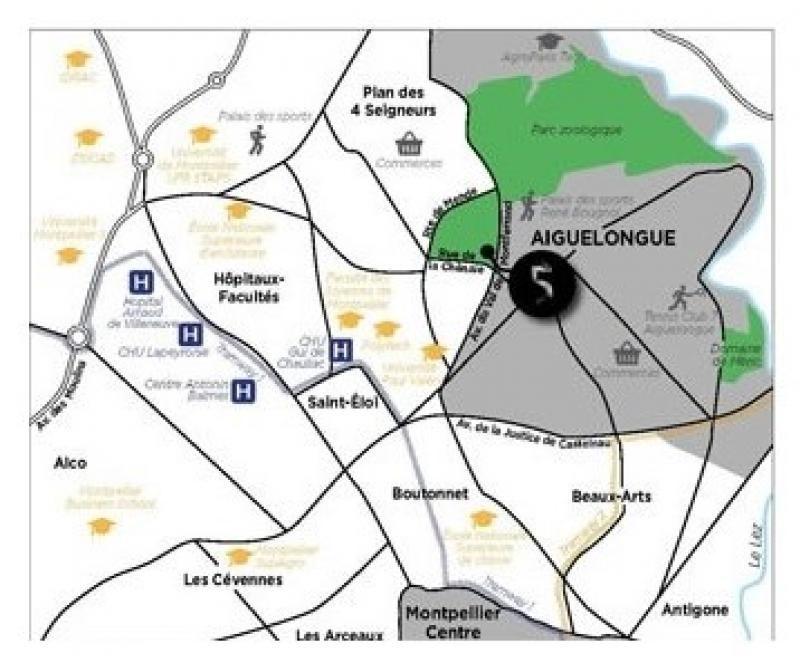 Sale apartment Montpellier 429000€ - Picture 3