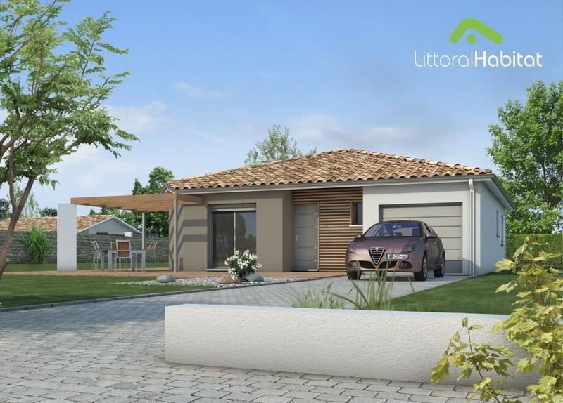 Maison  5 pièces + Terrain 680 m² Lit et Mixe (40170) par LITTORAL HABITAT