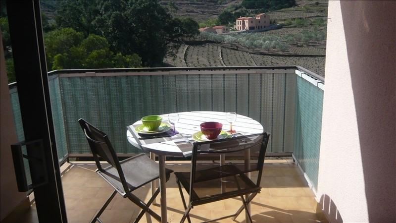 Sale apartment Collioure 148000€ - Picture 1