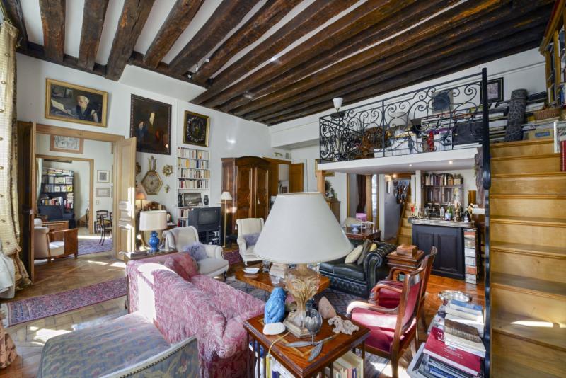Verkoop van prestige  appartement Paris 4ème 3150000€ - Foto 2