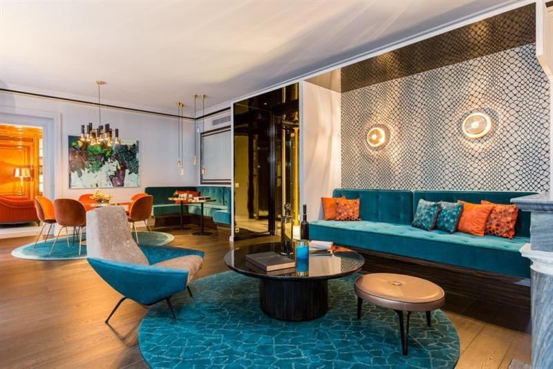 Revenda residencial de prestígio apartamento Paris 6ème 4750000€ - Fotografia 4