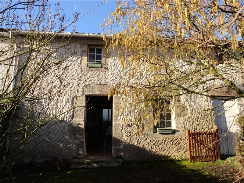 Vente maison / villa St hilaire de loulay 52800€ - Photo 1