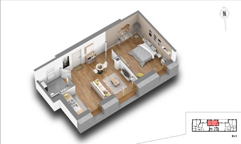 Sale apartment Courbevoie 313000€ - Picture 4