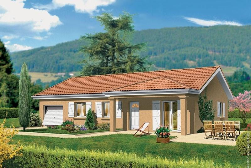 Maison  4 pièces + Terrain 1000 m² Uchizy par MAISONS PUNCH