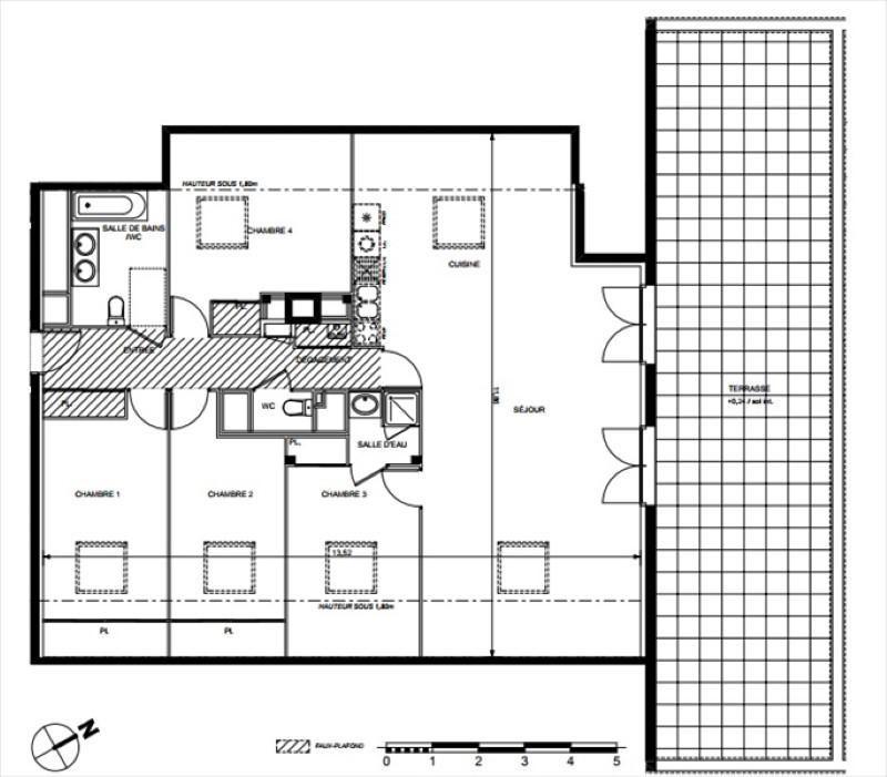 Vente appartement Toulouse 449000€ - Photo 4