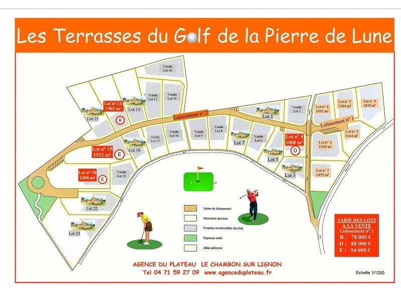 Sale site Le chambon sur lignon 78000€ - Picture 1
